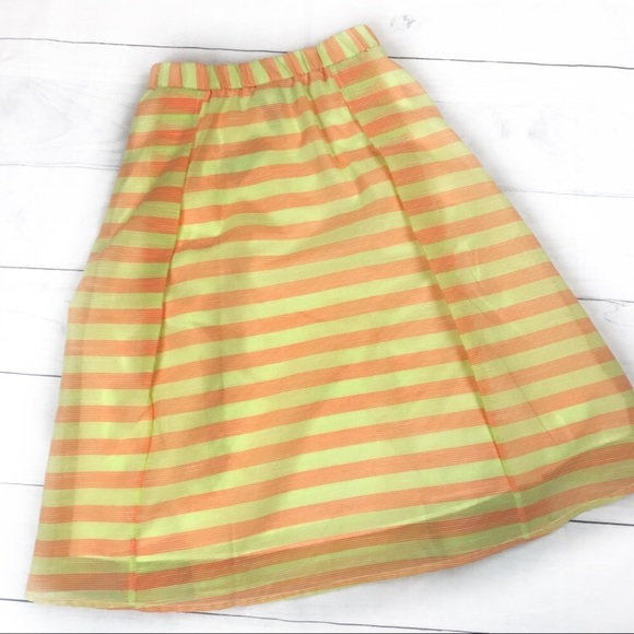 Plus Size New Yellow Skirt 1820